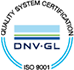 Quality System Certification Mark DNV-GL